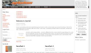 Шаблон RT Aphelion для CMS Joomla от RocketTheme