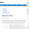 Шаблон RT DigitalEther для CMS Joomla от RocketTheme