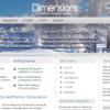 Шаблон RT Dimensions для CMS Joomla от RocketTheme
