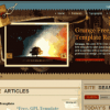 Шаблон RT Grunge для CMS Joomla от RocketTheme