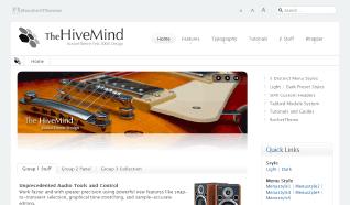 Шаблон RT HiveMind для CMS Joomla от RocketTheme