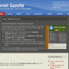 Шаблон RT Internet Gazette для CMS Joomla от RocketTheme