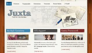 Шаблон RT Juxta для CMS Joomla от RocketTheme
