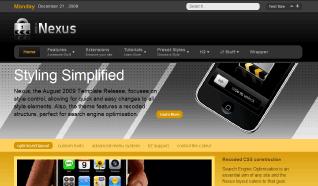 Шаблон RT Nexus для CMS Joomla от RocketTheme