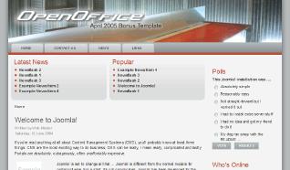 Шаблон RT OpenOffice для CMS Joomla от RocketTheme