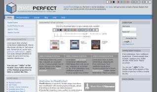 Шаблон RT PixelPerfect для CMS Joomla от RocketTheme