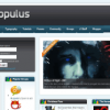 Шаблон RT Populus для CMS Joomla от RocketTheme