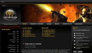 Шаблон RT TechnoZine для CMS Joomla от RocketTheme