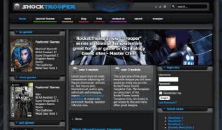 Шаблон RT Trooper Series для CMS Joomla от RocketTheme