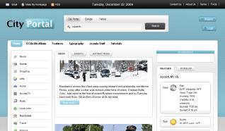Шаблон S5 City Portal для CMS Joomla от Shape5