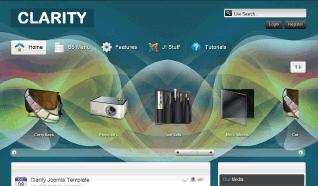 Шаблон S5 Clarity для CMS Joomla от Shape5