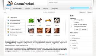 Шаблон S5 CommPortal для CMS Joomla от Shape5