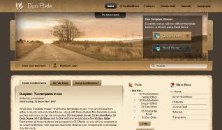 Шаблон S5 Duoplate для CMS Joomla от Shape5