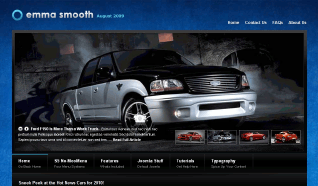 Шаблон S5 Emma Smooth для CMS Joomla от Shape5