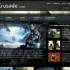 Шаблон S5 Game Crusade для CMS Joomla от Shape5