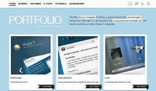 Шаблон S5 Portfolio для CMS Joomla от Shape5