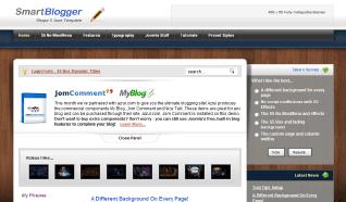 Шаблон S5 Smart Blogger для CMS Joomla от Shape5