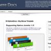 Шаблон S5 SphereDocs для CMS Joomla от Shape5
