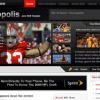 Шаблон S5 Sportopolis для CMS Joomla от Shape5