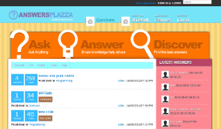 Шаблон TP Answers Plazza для CMS Joomla от TemplatePlazza