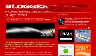 Шаблон TP Blogger Plazza для CMS Joomla от TemplatePlazza