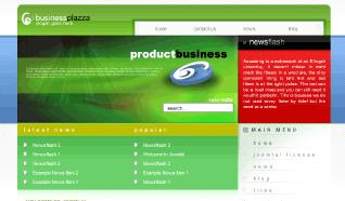 Шаблон TP Business Plazza для CMS Joomla от TemplatePlazza