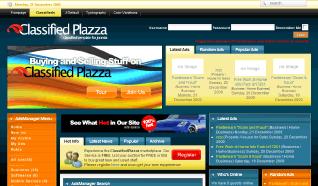 Шаблон TP Classifieds Plazza для CMS Joomla от TemplatePlazza