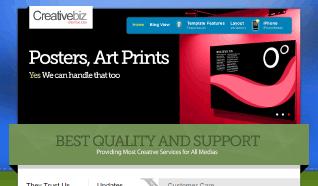 Шаблон TP CreativeBiz Plazza для CMS Joomla от TemplatePlazza