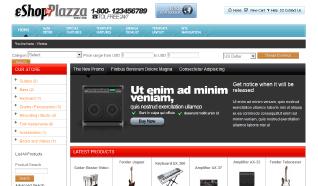 Шаблон TP eShop Plazza для CMS Joomla от TemplatePlazza