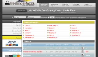 Шаблон TP Freelance Plazza для CMS Joomla от TemplatePlazza