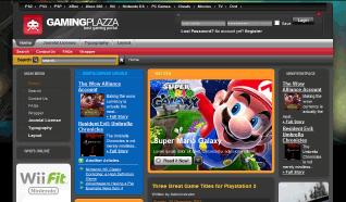 Шаблон TP Gaming Plazza для CMS Joomla от TemplatePlazza