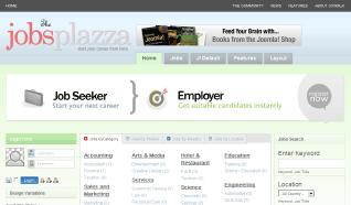 Шаблон TP Jobs Plazza для CMS Joomla от TemplatePlazza