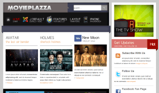 Шаблон TP Movie Plazza для CMS Joomla от TemplatePlazza