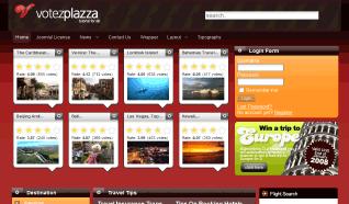 Шаблон TP Votez Plazza для CMS Joomla от TemplatePlazza