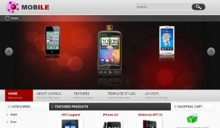 Шаблон VT Mobile для CMS Joomla от Vtem