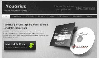 Шаблон YJ YouGrids для CMS Joomla от YouJoomla