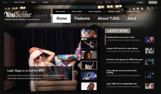 Шаблон YJ YouScene для CMS Joomla от YouJoomla