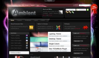 Шаблон YT Ambient для CMS Joomla от YOOTheme