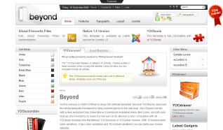 Шаблон YT Beyond для CMS Joomla от YOOTheme