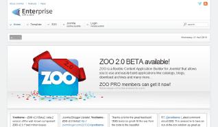 Шаблон YT Enterprise для CMS Joomla от YOOTheme