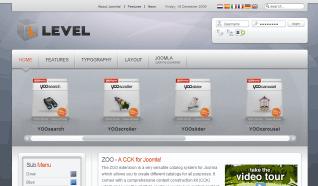 Шаблон YT Level для CMS Joomla от YOOTheme
