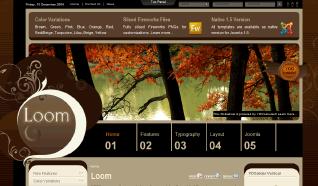 Шаблон YT Loom для CMS Joomla от YOOTheme