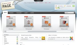 Шаблон YT Page для CMS Joomla от YOOTheme