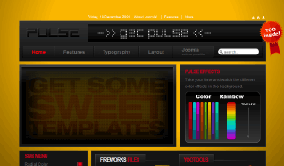 Шаблон YT Pulse для CMS Joomla от YOOTheme