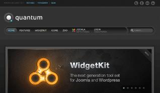 Шаблон YT Quantum для CMS Joomla от YOOTheme