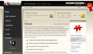 Шаблон YT Rollout для CMS Joomla от YOOTheme