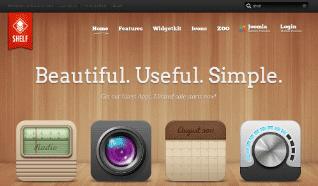 Шаблон YT Shelf для CMS Joomla от YOOTheme