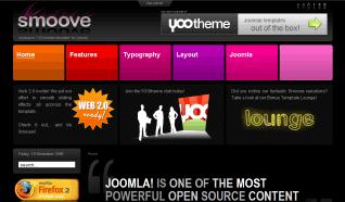 Шаблон YT Smoove для CMS Joomla от YOOTheme