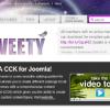 Шаблон YT Tweety для CMS Joomla от YOOTheme