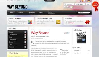 Шаблон YT Way Beyond для CMS Joomla от YOOTheme